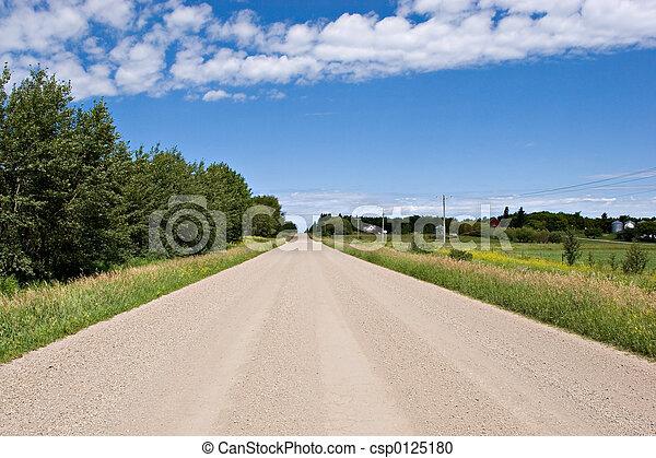 Gravel Road - csp0125180