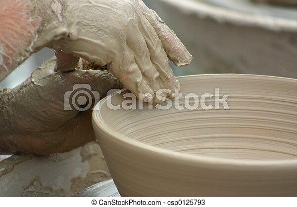 Clay Pottery - csp0125793