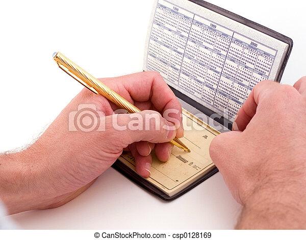 check writer - csp0128169