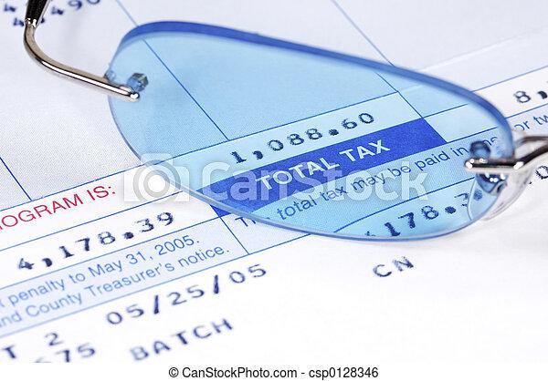 Tax Bill - csp0128346