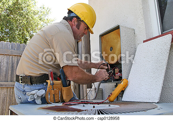 Air Conditioning Repairman 3 - csp0128958