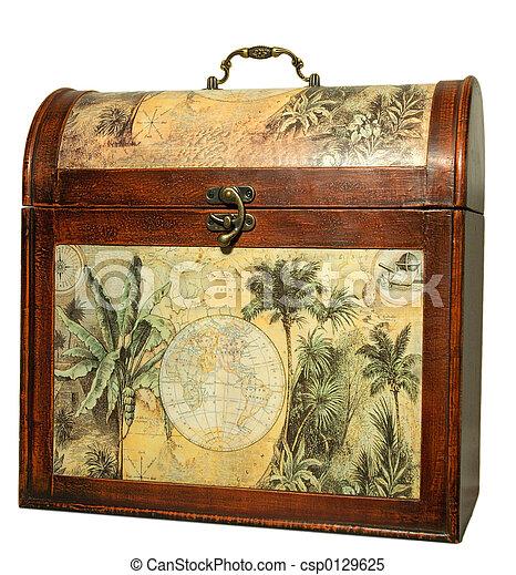 Vintage trunk - csp0129625