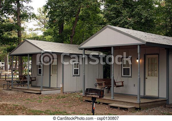 Camping Cabins - csp0130807
