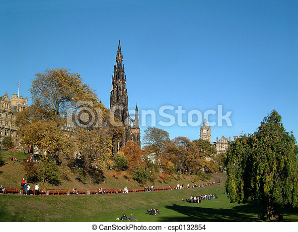 Scott monument - csp0132854