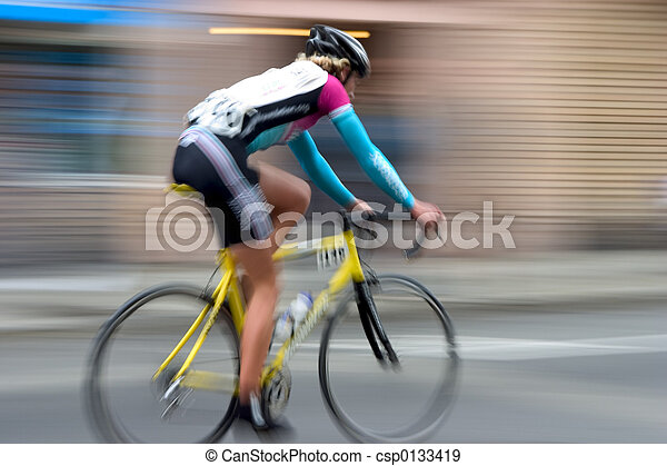 Bike Racer #4 - csp0133419