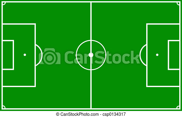 soccer pitch - csp0134317