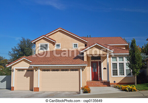 House in the Suburbs - csp0135649