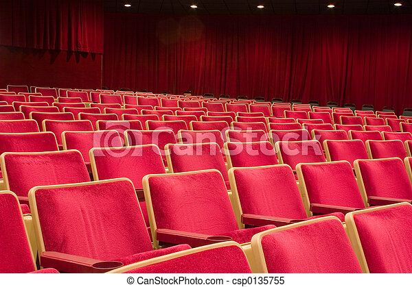 Theater seating 1 - csp0135755