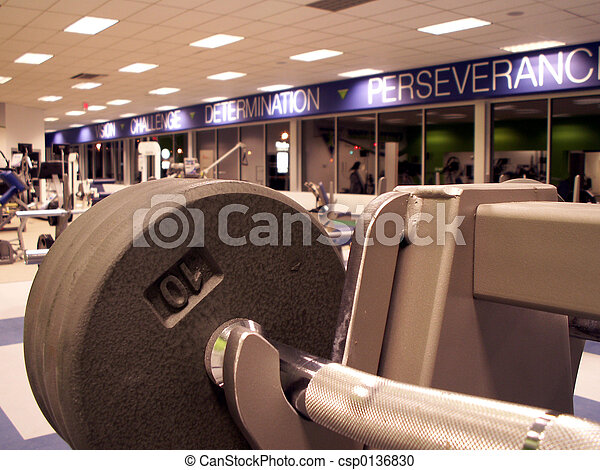 fitness center - csp0136830