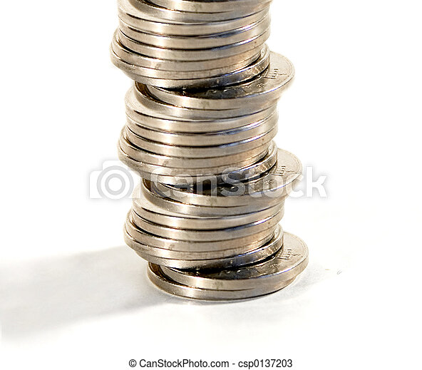Stack of Coins - csp0137203