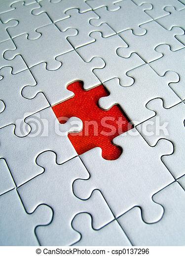 Jigsaw red element - csp0137296