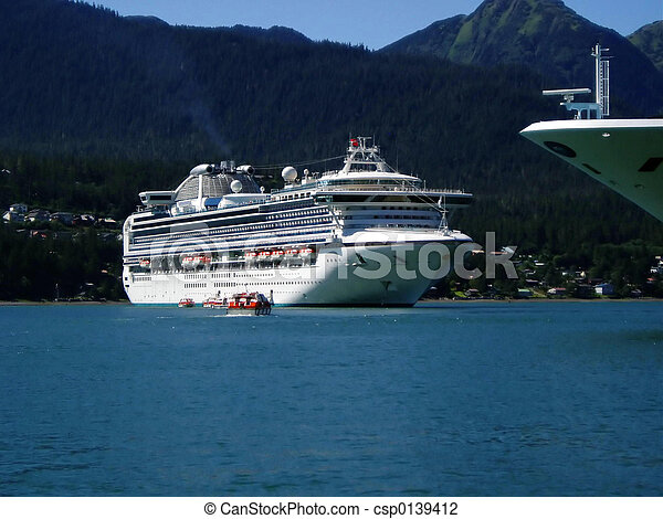 Alaska Cruise Ships - csp0139412
