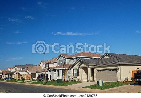 Suburbs - csp0139765