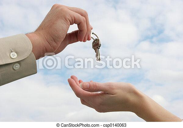 Handing over the key - csp0140063