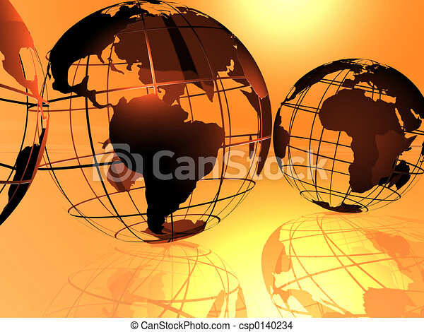 world and sky - csp0140234