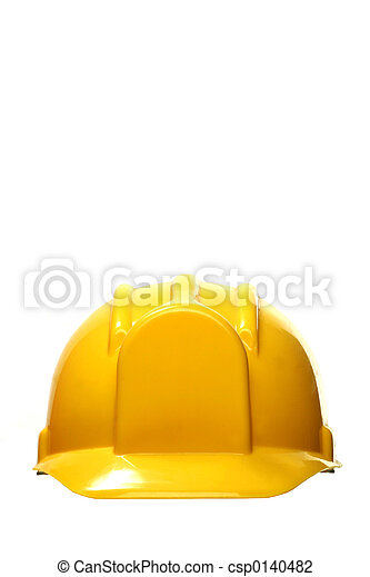 yellow hard hat - csp0140482