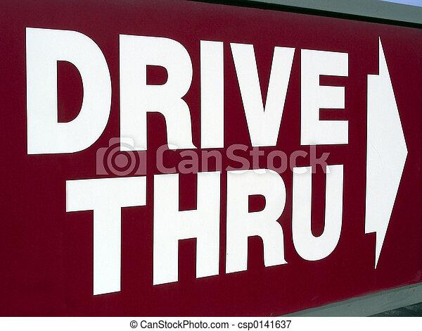 Drive Thru - csp0141637