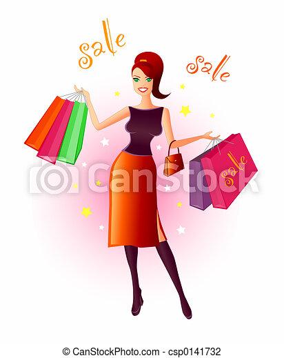 Joy Of Shopping - csp0141732