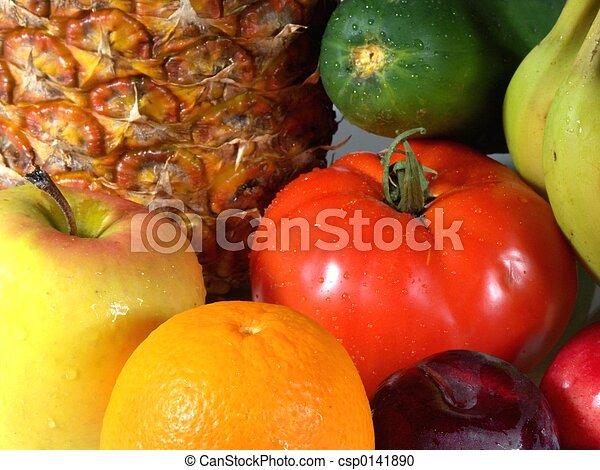 fruits and veggies # - csp0141890