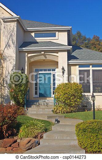 Upscale house - csp0144273