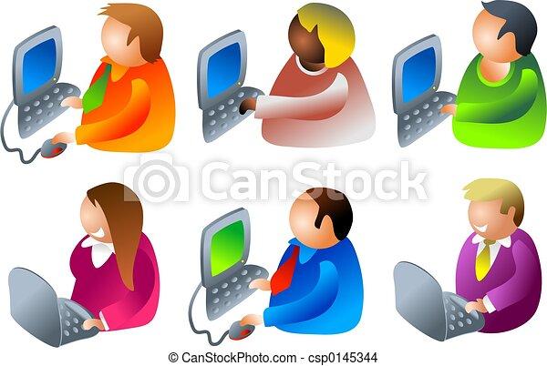 computer people - csp0145344