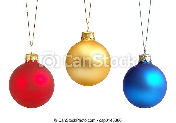 ボール, クリスマス - csp0145366