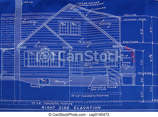 Right side detail blueprint - csp0145473