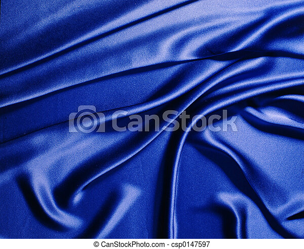 Blue silk - csp0147597