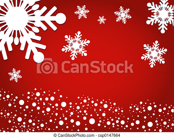 Winter background - csp0147664