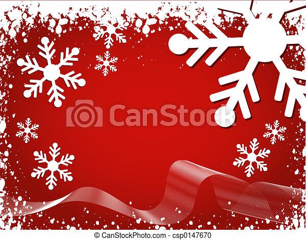 Winter background - csp0147670