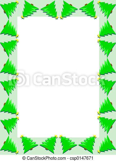 Christmas trees - csp0147671