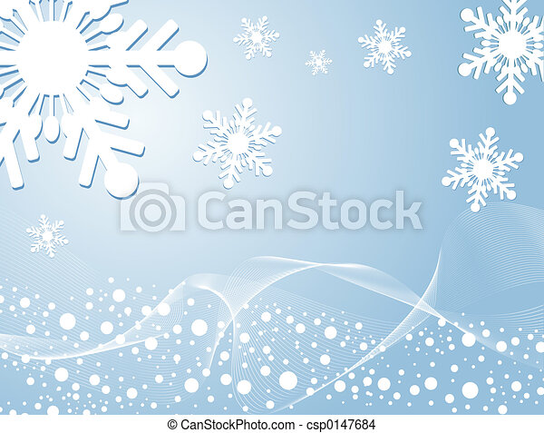 Winter background - csp0147684