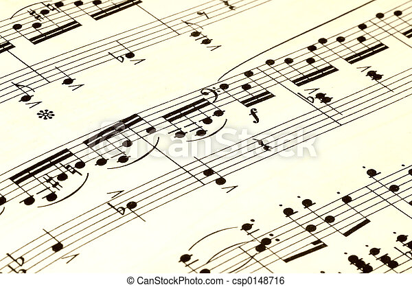 ark, musik - csp0148716