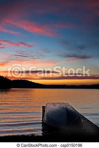 skeppsdocka, båt - csp0150196