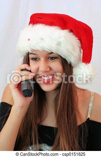 Calling Santa - csp0151625