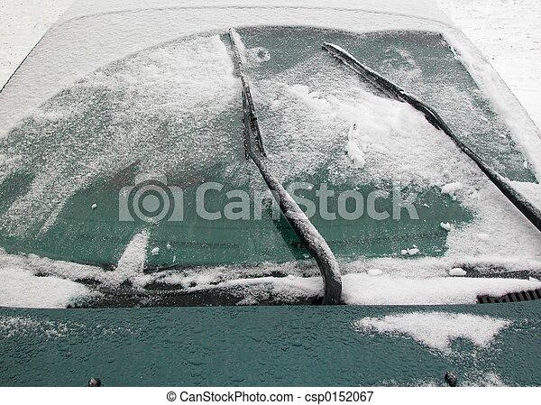 Winter windshield - csp0152067