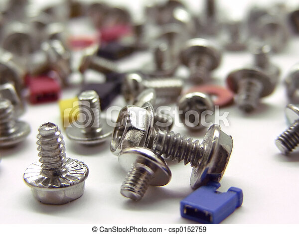 Computer screws and jupper switches  - csp0152759