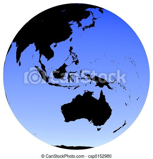 Earth Globe - csp0152980