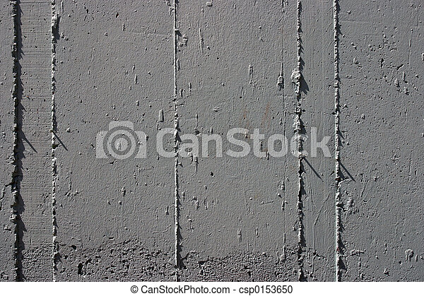 Concrete wall detail - csp0153650