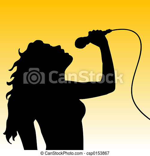 Female singer - csp0153867
