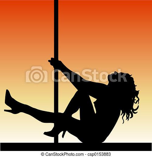 Pole dancer - csp0153883