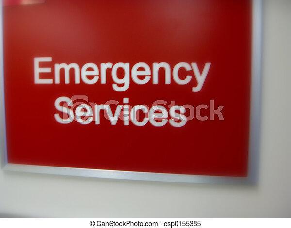 サービス, 緊急事態, 印 - csp0155385