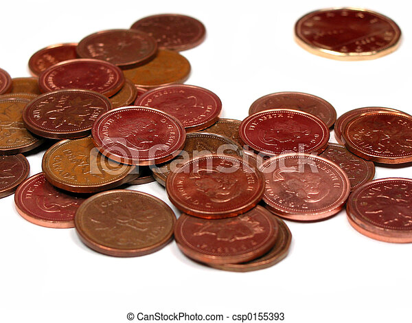 Canadian coins - csp0155393