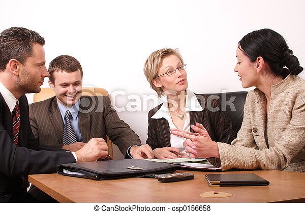 4, affari, Persone - csp0156658