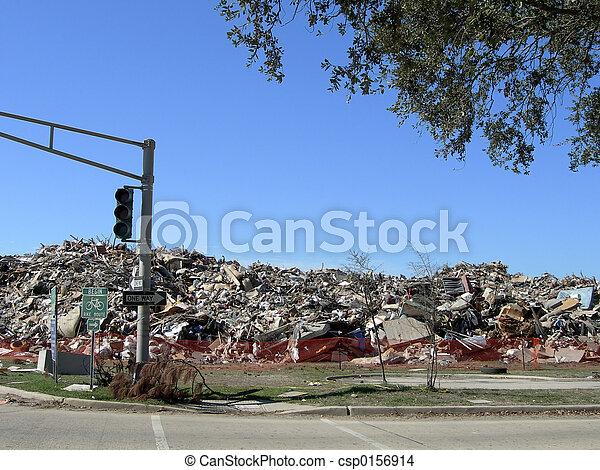 Trash Pile - csp0156914