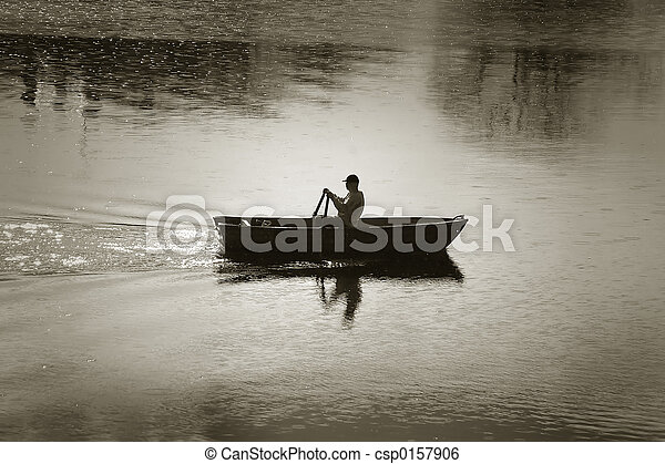 rowing-boat - csp0157906