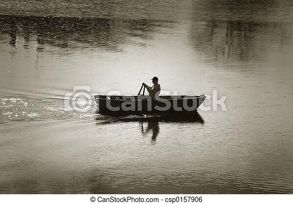 rowing-boat - csp0157906