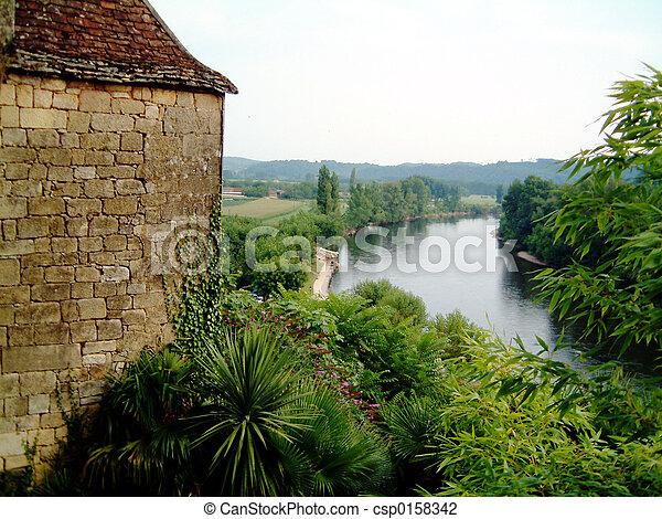 Dordogne River - csp0158342