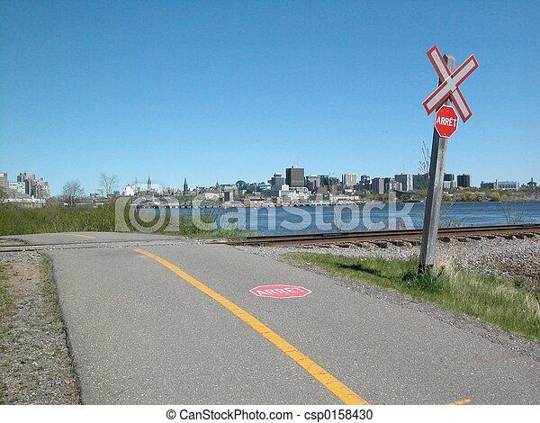 Ottawa and Bike Path - csp0158430