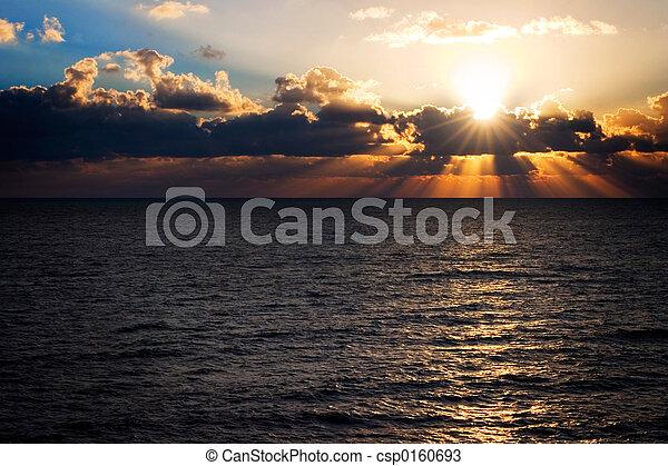 Florida Sunrise - csp0160693